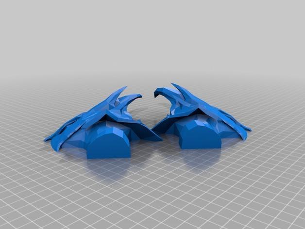 迪德拉半身像 3D模型  图4
