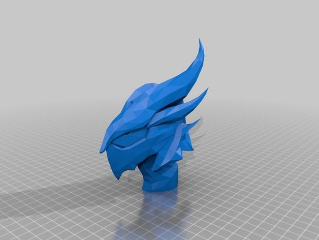 迪德拉半身像 3D模型  图2