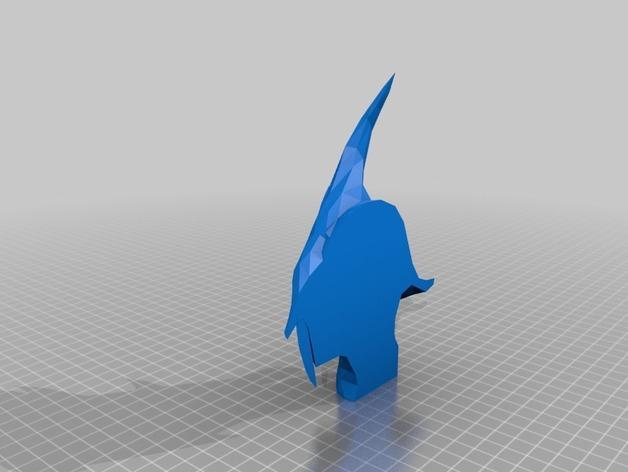 迪德拉半身像 3D模型  图5