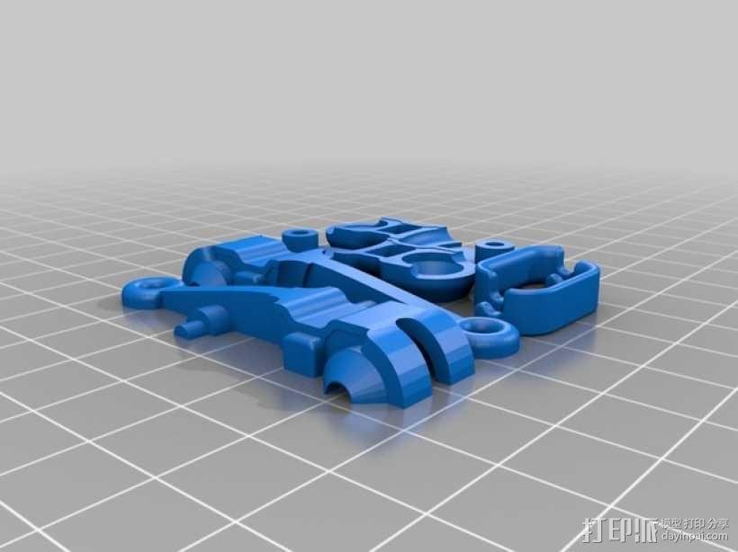 迷你滑轮组 3D模型  图5