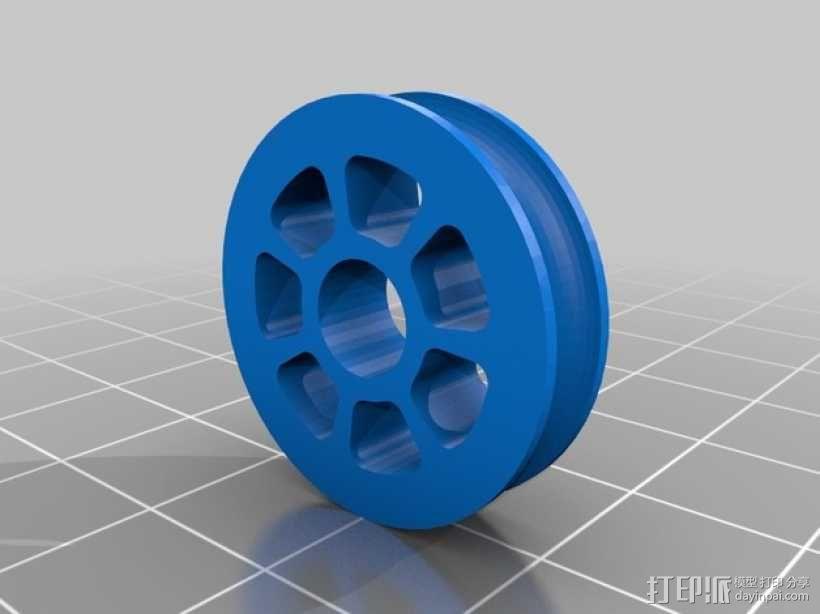 迷你滑轮组 3D模型  图7