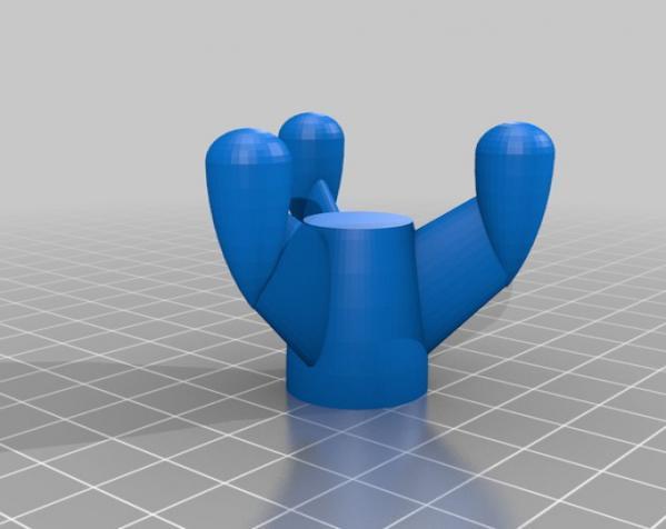 经典火箭模型 3D模型  图3