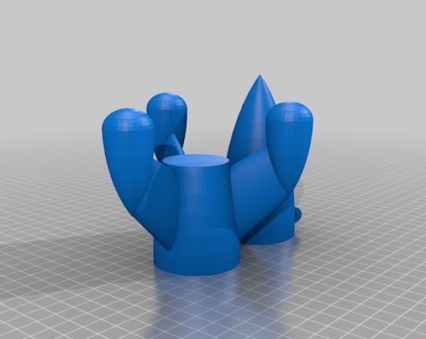 经典火箭模型 3D模型  图2