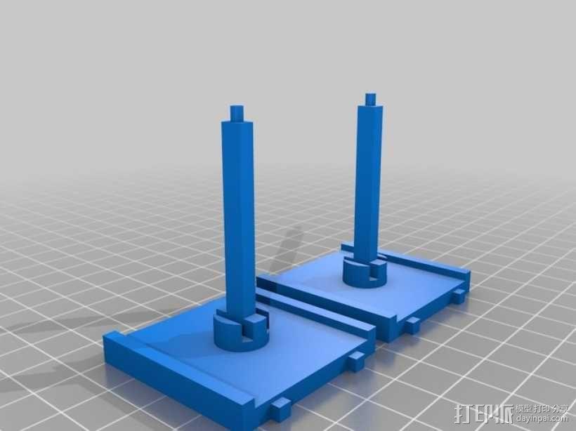 飞行基地 + 宇宙飞船 3D模型  图1