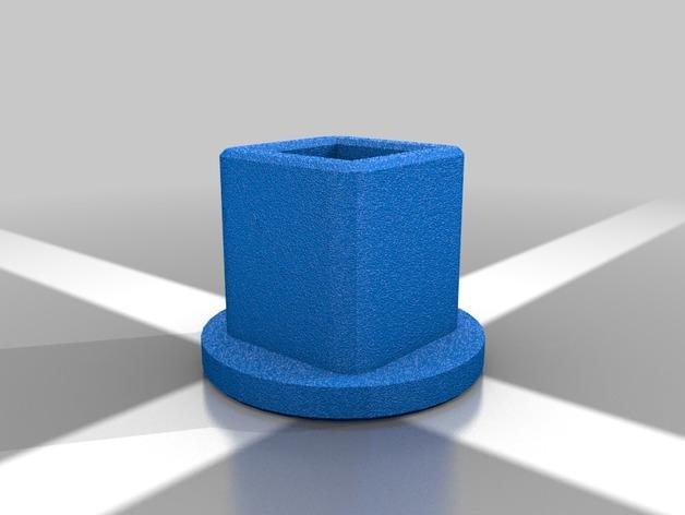 4槽槽轮机构 3D模型  图2