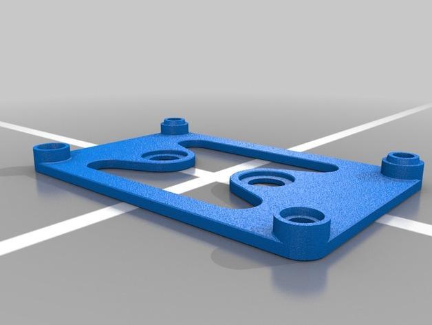 4槽槽轮机构 3D模型  图4