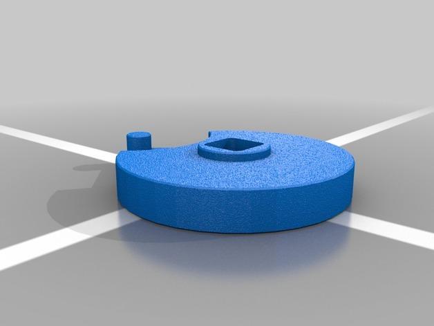 4槽槽轮机构 3D模型  图6