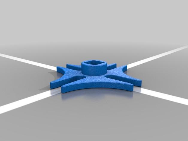 4槽槽轮机构 3D模型  图5
