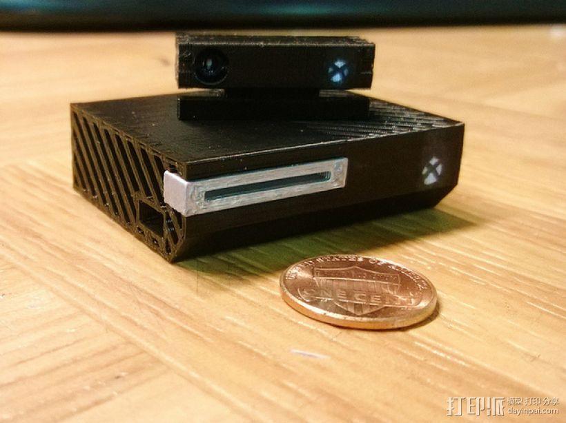 微软游戏主机Xbox 3D模型  图1