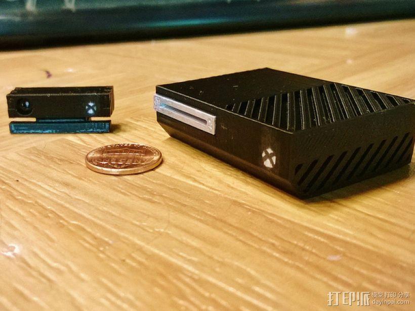 微软游戏主机Xbox 3D模型  图2