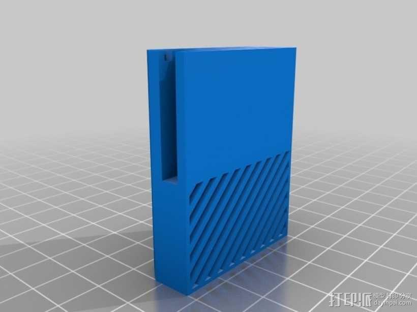 微软游戏主机Xbox 3D模型  图3