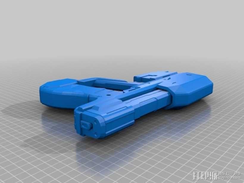 单兵防卫武器系统 3D模型  图1