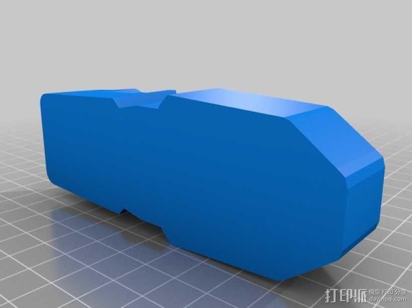 单兵防卫武器系统 3D模型  图3