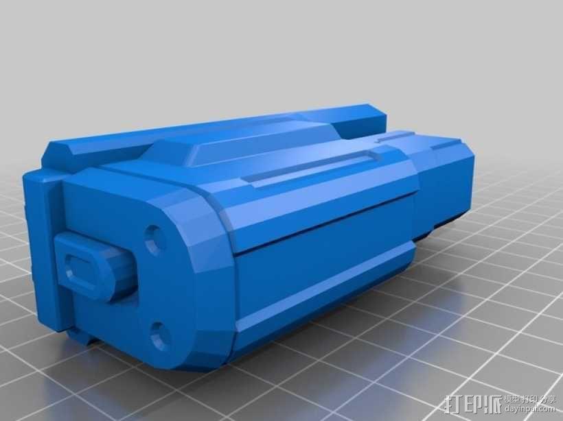 单兵防卫武器系统 3D模型  图4