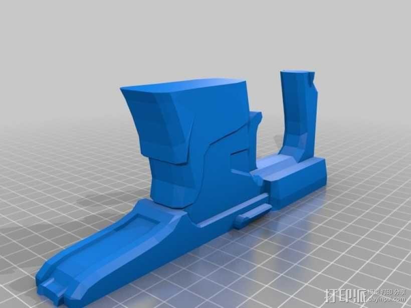 单兵防卫武器系统 3D模型  图6