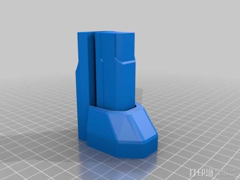 单兵防卫武器系统 3D模型  图8