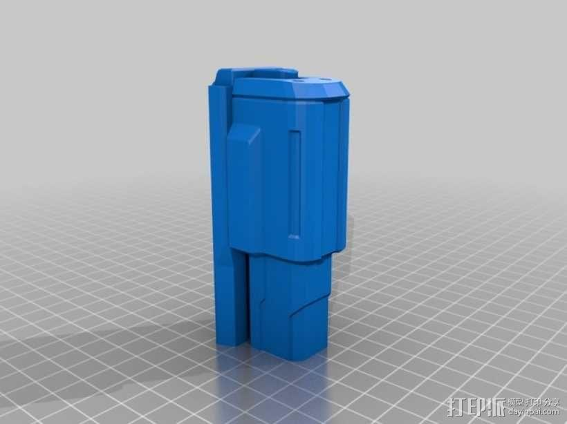 单兵防卫武器系统 3D模型  图9