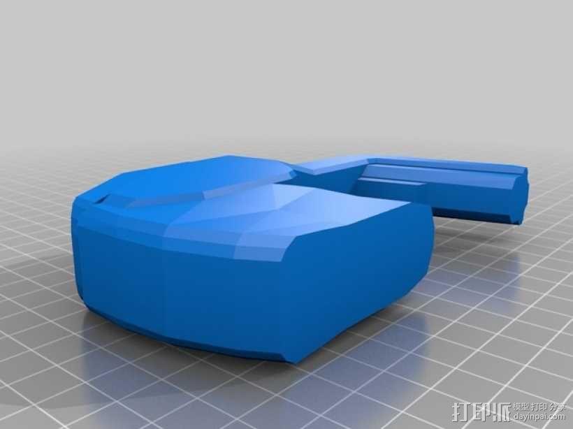 单兵防卫武器系统 3D模型  图13