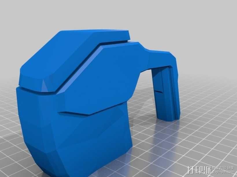 单兵防卫武器系统 3D模型  图16