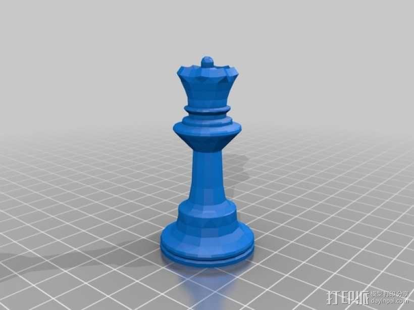 glChess 3D模型  图6