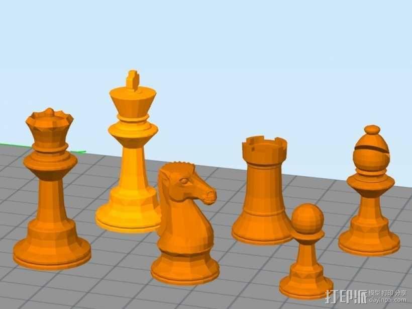 glChess 3D模型  图4
