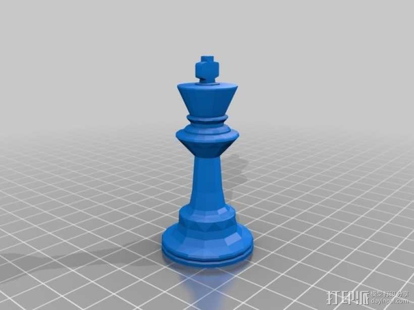 glChess 3D模型  图7