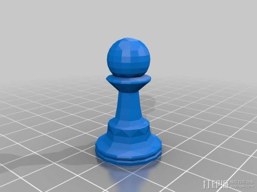 glChess 3D模型  图8