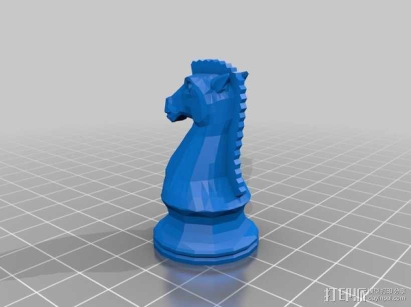 glChess 3D模型  图12