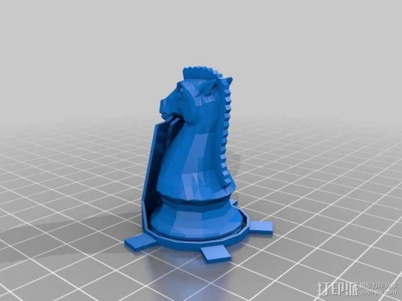 glChess 3D模型  图11