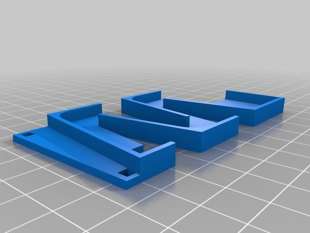 Z字形滚珠滑道 3D模型  图3