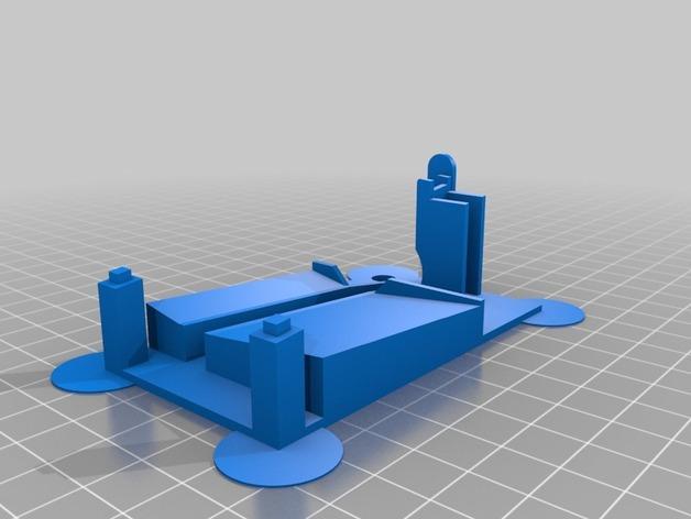 Z字形滚珠滑道 3D模型  图2