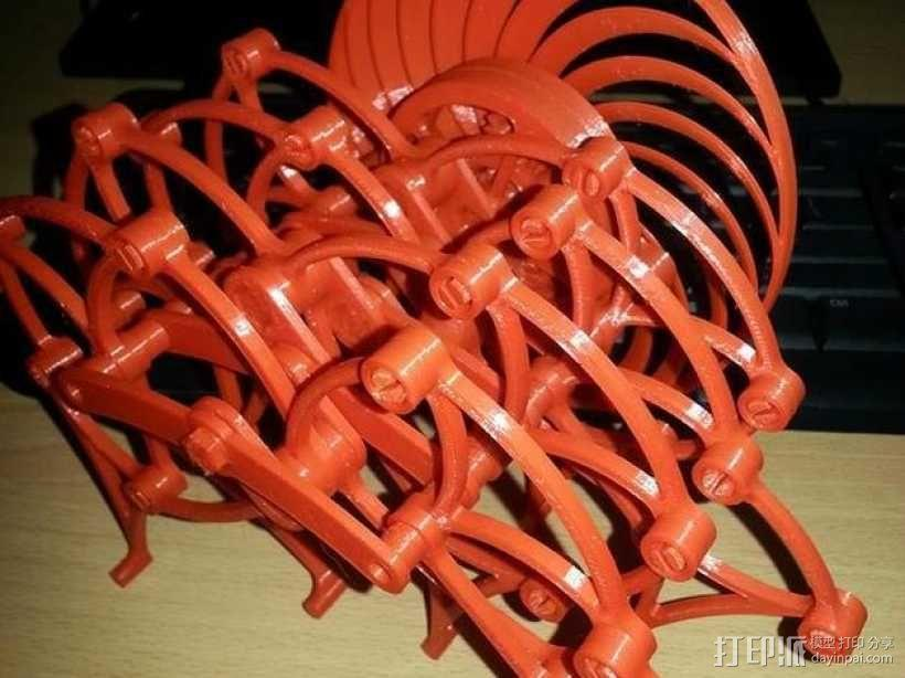 风力仿生兽 3D模型  图1