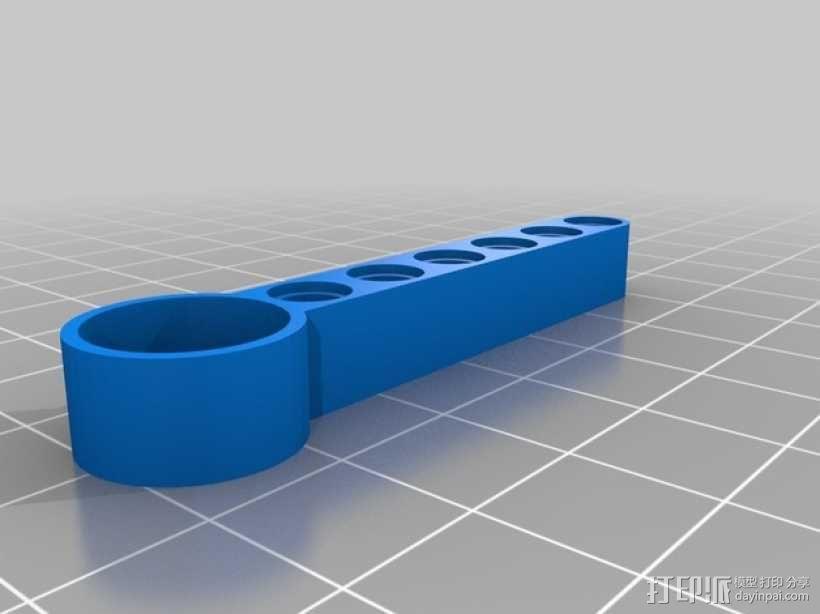 EV3画图机器人笔座 3D模型  图3