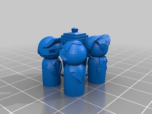 塔迪斯 3D模型  图3