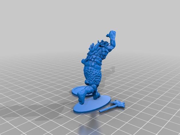 半兽人 3D模型  图4