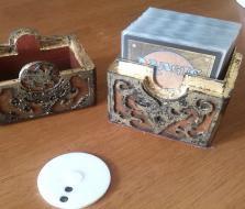 卡片盒 3D模型