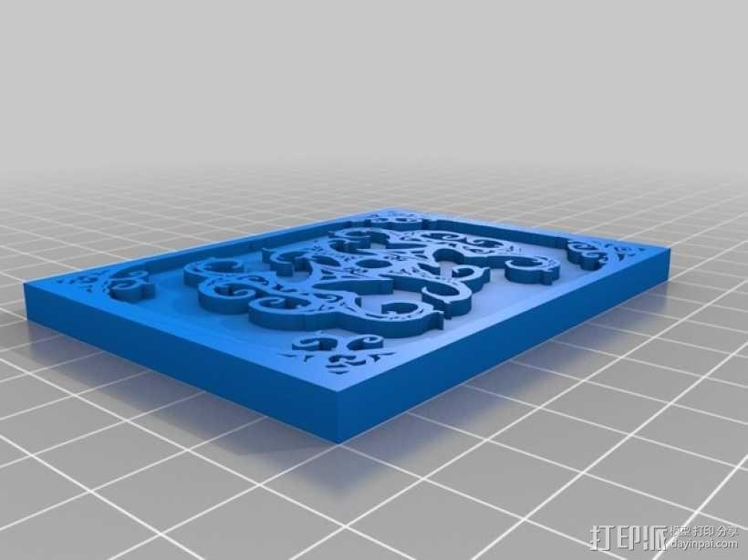 卡片盒 3D模型  图2