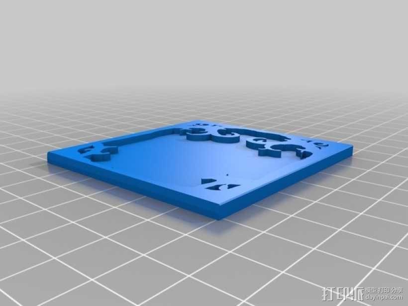 卡片盒 3D模型  图5