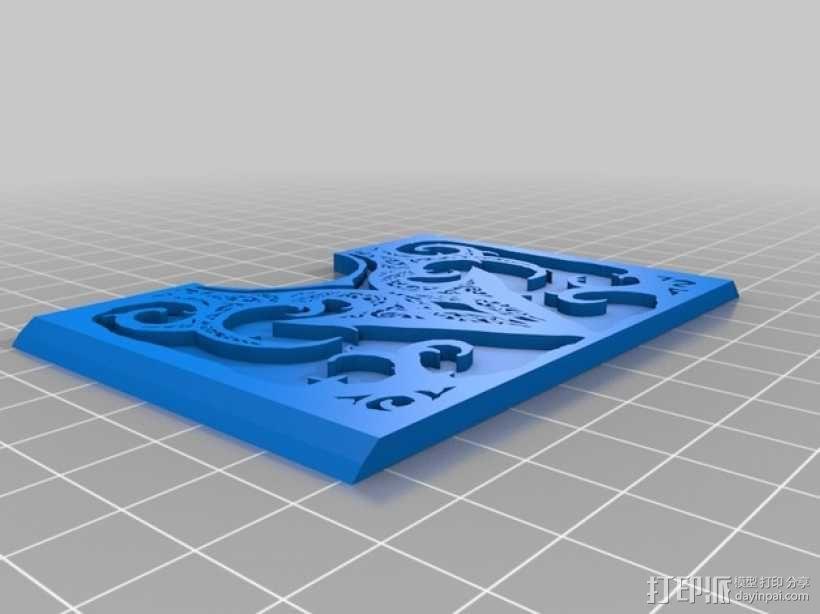 卡片盒 3D模型  图4