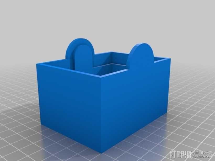 卡片盒 3D模型  图7