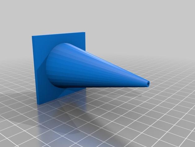 锥形交通路标 3D模型  图3