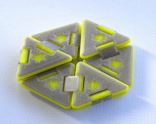 六边形折纸 3D模型  图4