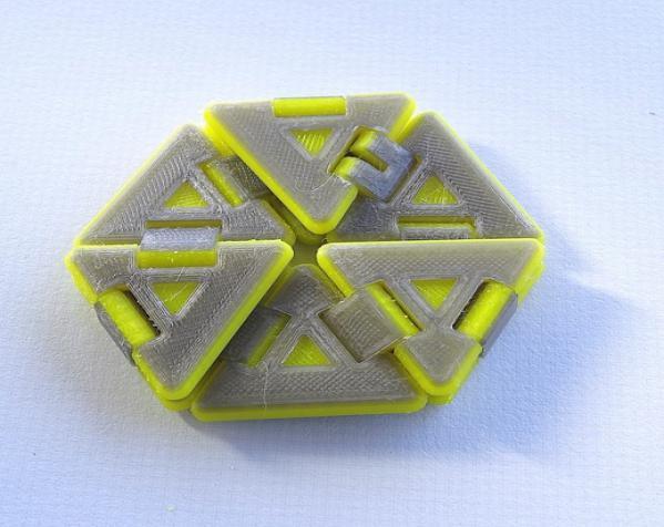 六边形折纸 3D模型  图3