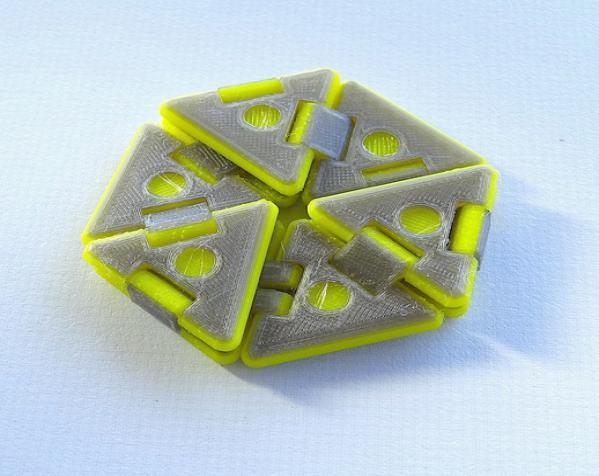 六边形折纸 3D模型  图2