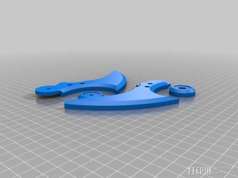 蝙蝠镖 3D模型  图3