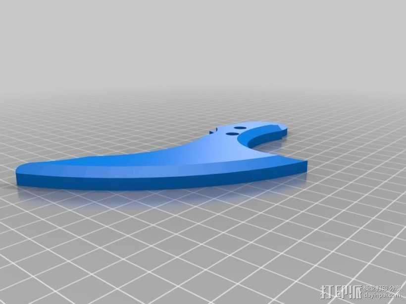 蝙蝠镖 3D模型  图4