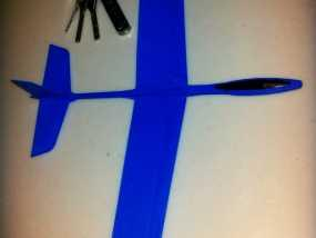 高性能滑翔机 3D模型