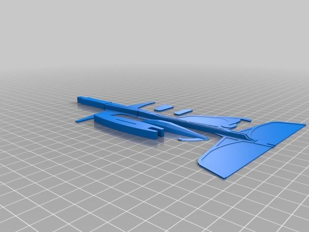 高性能滑翔机 3D模型  图2