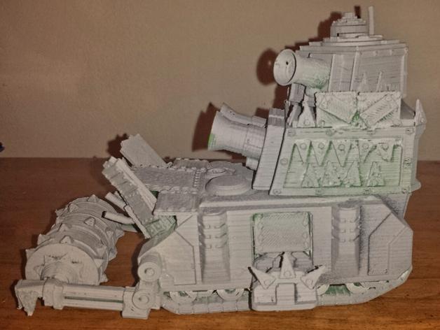 达卡炮塔 3D模型  图2