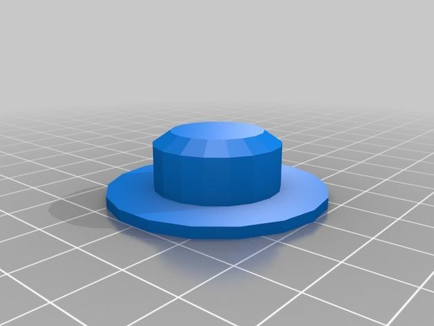 达卡炮塔 3D模型  图3